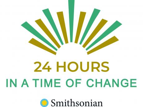 24 hours in a time of change logo